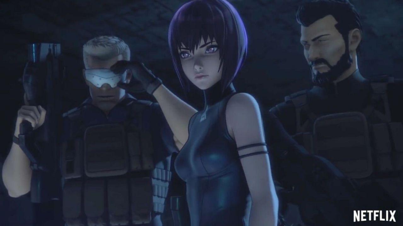 Ghost in the Shell: SAC_2045 debutta il 23 aprile, poster e novità sull'anime Netflix