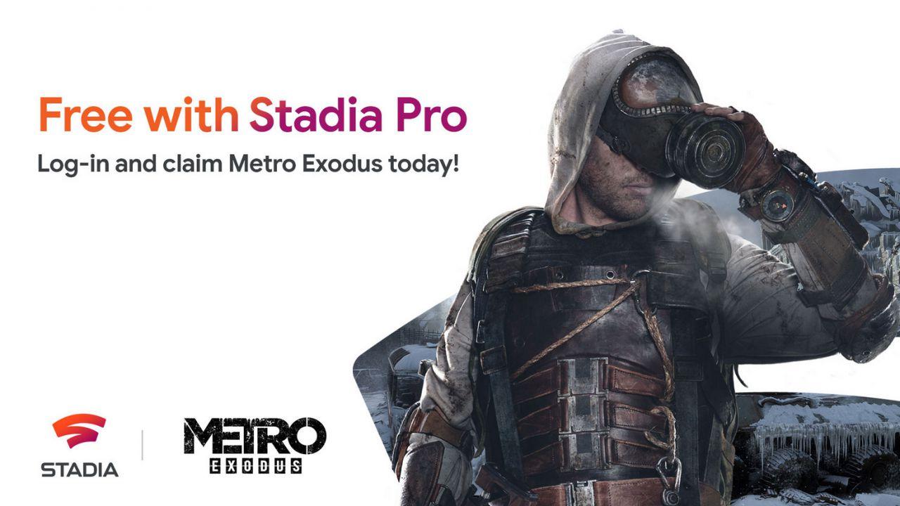 Giochi gratis di Google Stadia: Metro Exodus è disponibile per gli abbonati a Stadia Pro