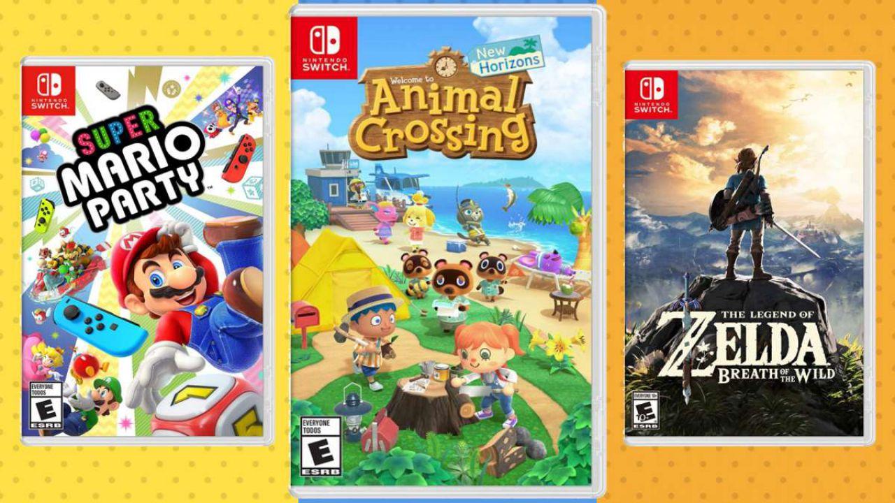 Giochi Switch in offerta: da Animal Crossing a Mario, gli sconti di GameStopZing