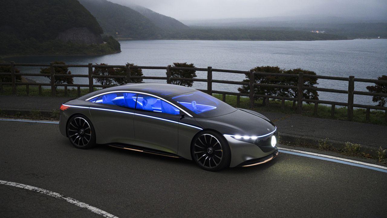 Giornata della Terra 2020: in Giappone con la futuristica Mercedes-Benz Vision EQS