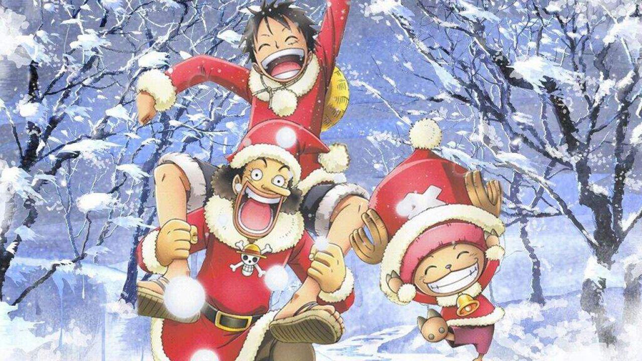 Gli auguri di Buon Anno di Shingaki Shigefumi, direttore dell'animazione di ONE PIECE