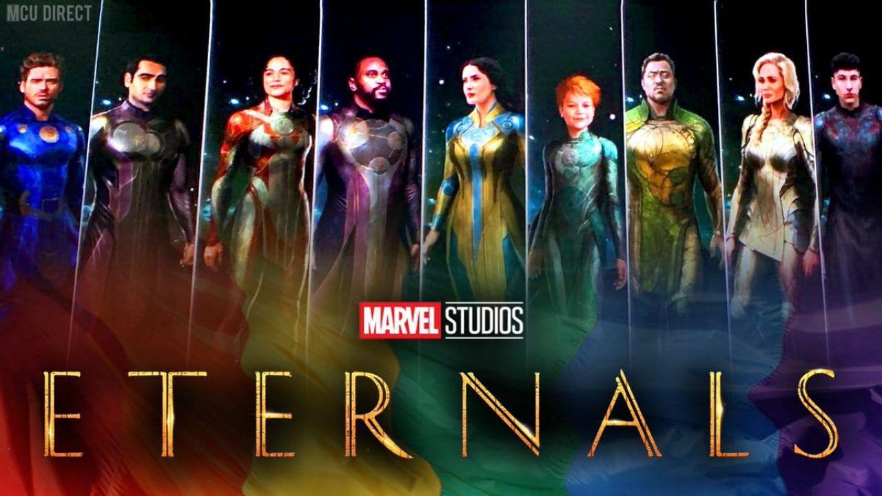 Gli Eterni, finalmente un vero sguardo al nuovo gruppo di supereroi del MCU!