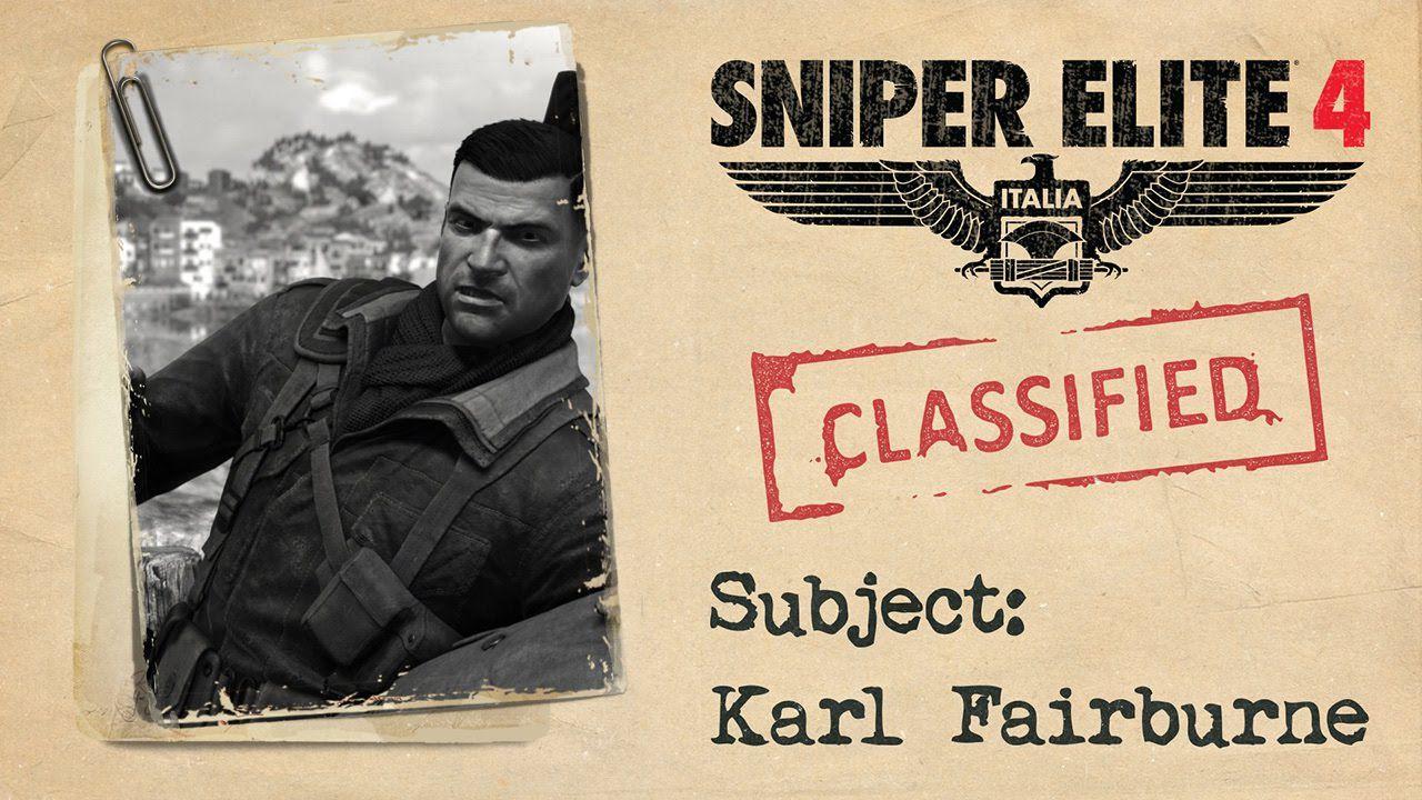 Gli sviluppatori di Sniper Elite annunciano di essere a lavoro su dei titoli per Switch
