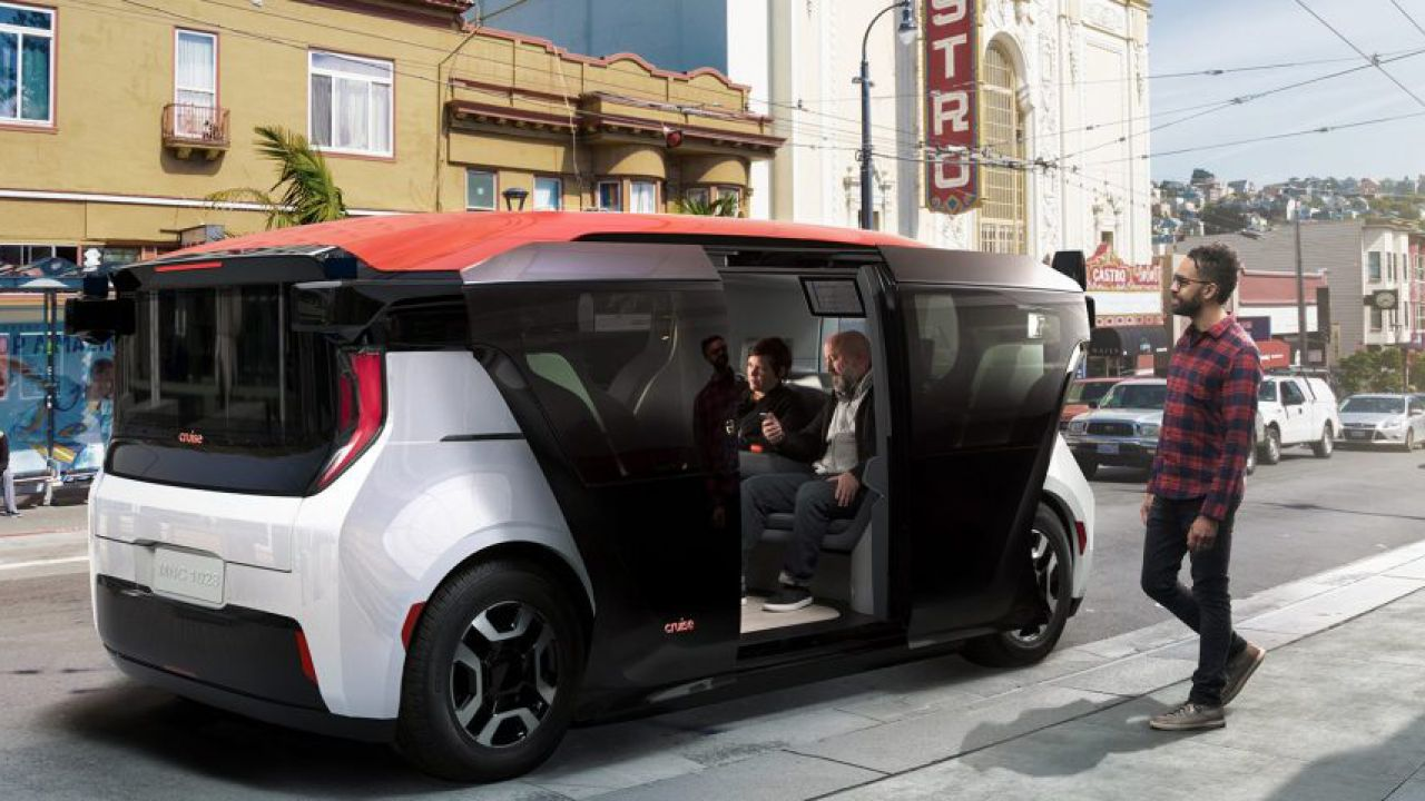 GM testa l'avanzato sistema Ultium con un veicolo senza volante