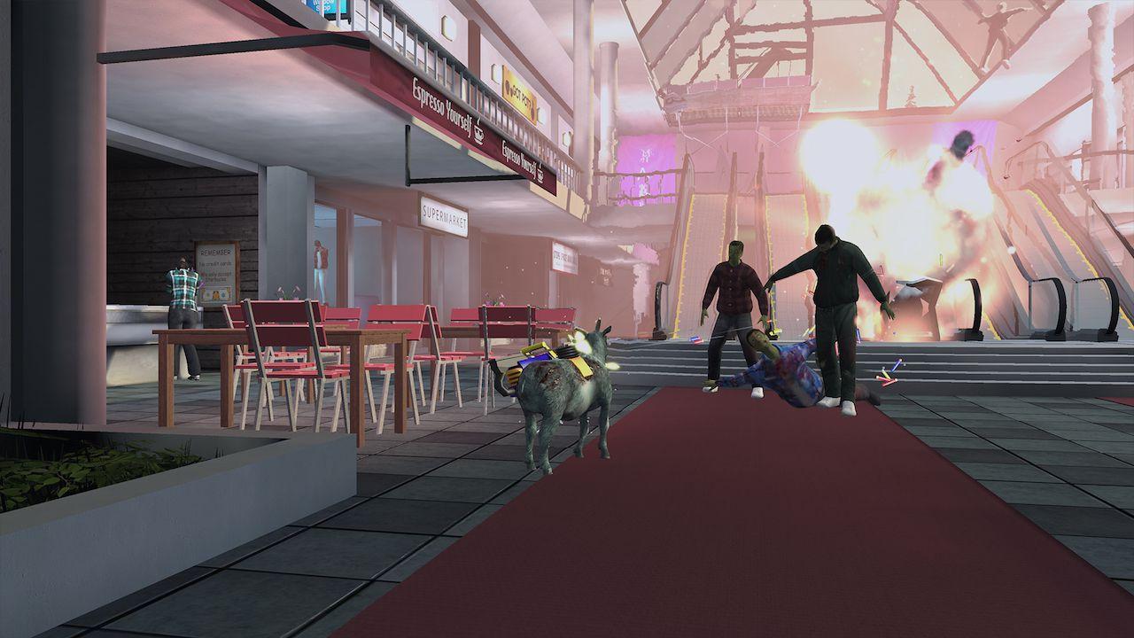Goat Simulator si fa strada a cornate verso le piattaforme PlayStation
