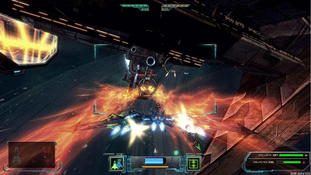 GoD Factory Wingmen: disponibile un nuovo aggiornamento