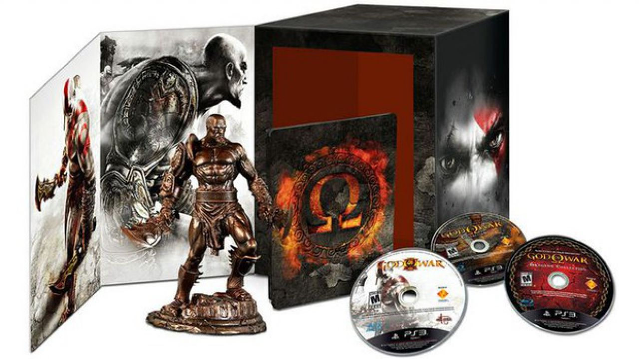 God of War 3 in un artbook venduto in tre diverse versioni