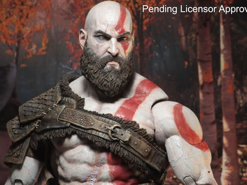 God of War: annunciata l''action figure di Kratos realizzata da Neca