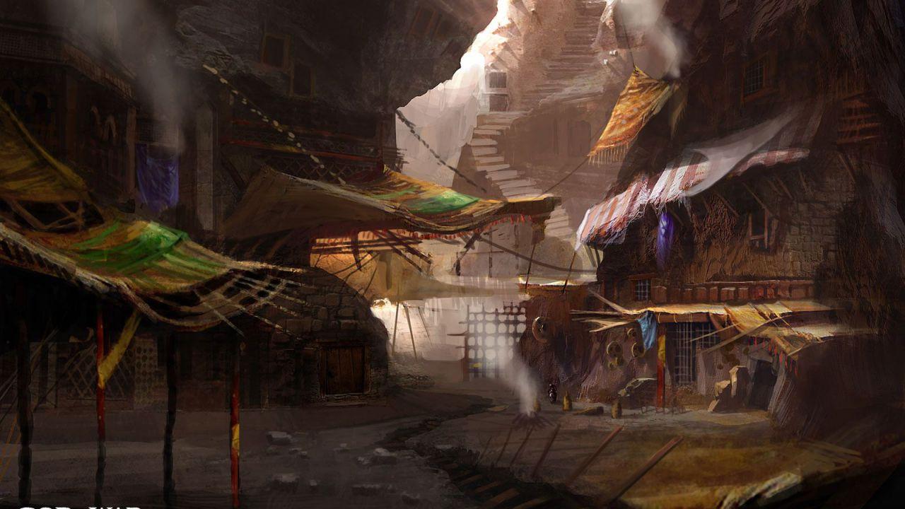 God of War: Ascension: artwork per Empusa, un nuovo nemico