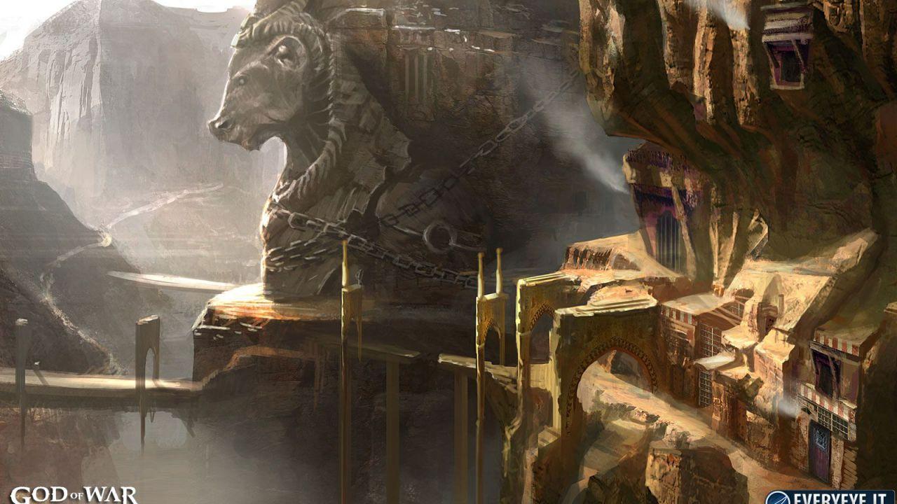 God of War Ascension: nuovi concept art