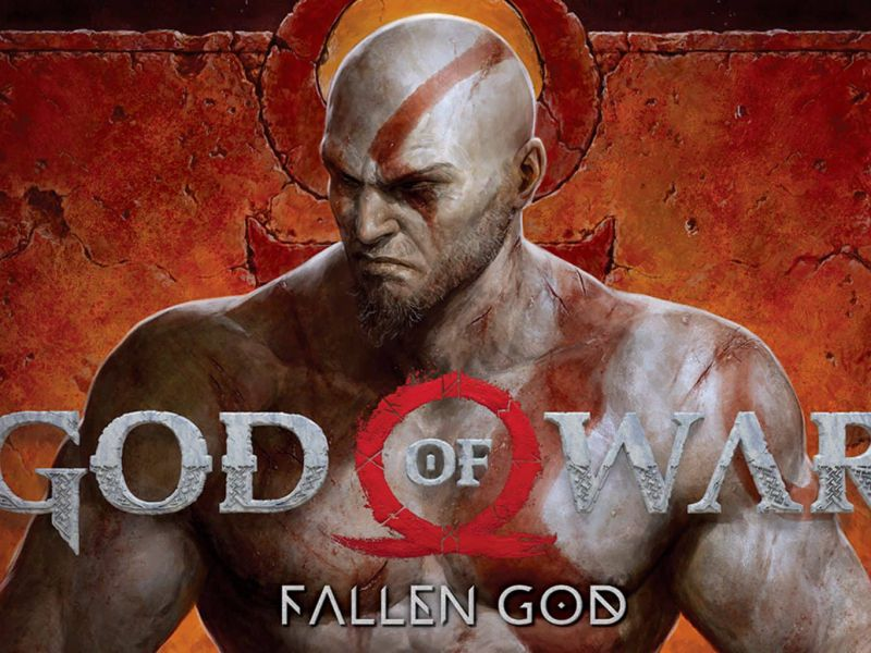 God of War Fallen God, Kratos conquering Egypt: discovering the comic