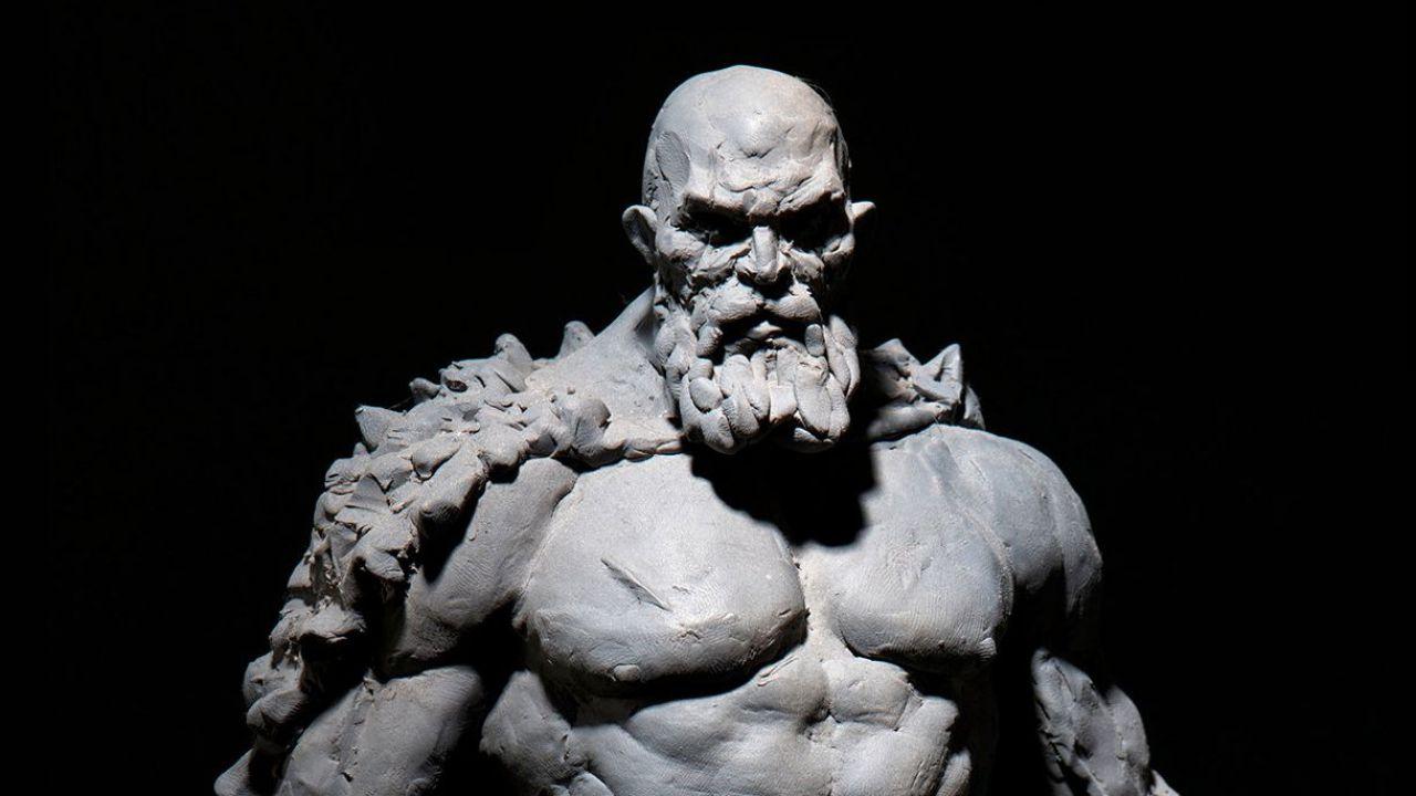 God of War: Kratos è ancora più minaccioso nel concept dell'Art Director