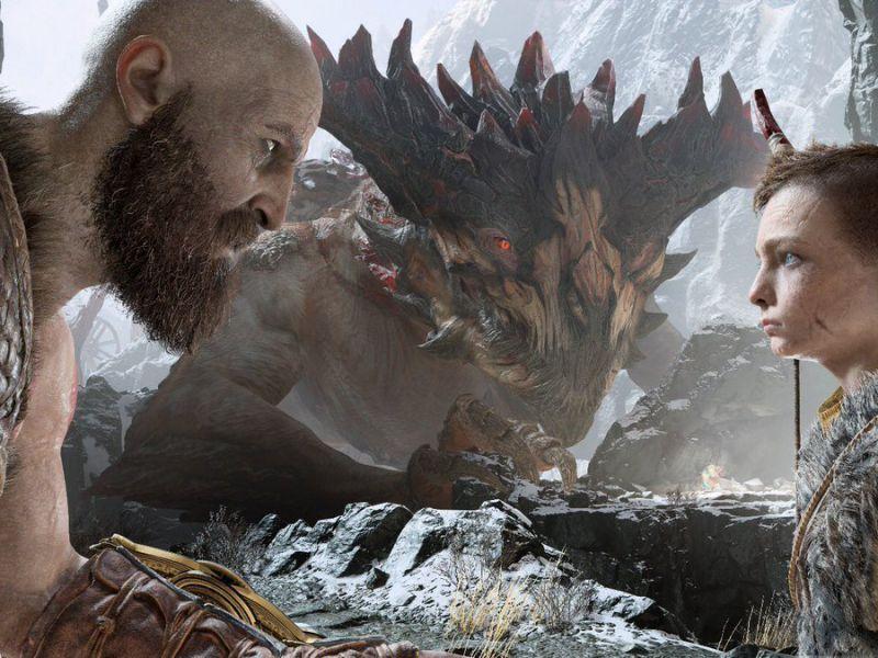 God of War PS4: Kratos e Atreus in azione nella Video Anteprima