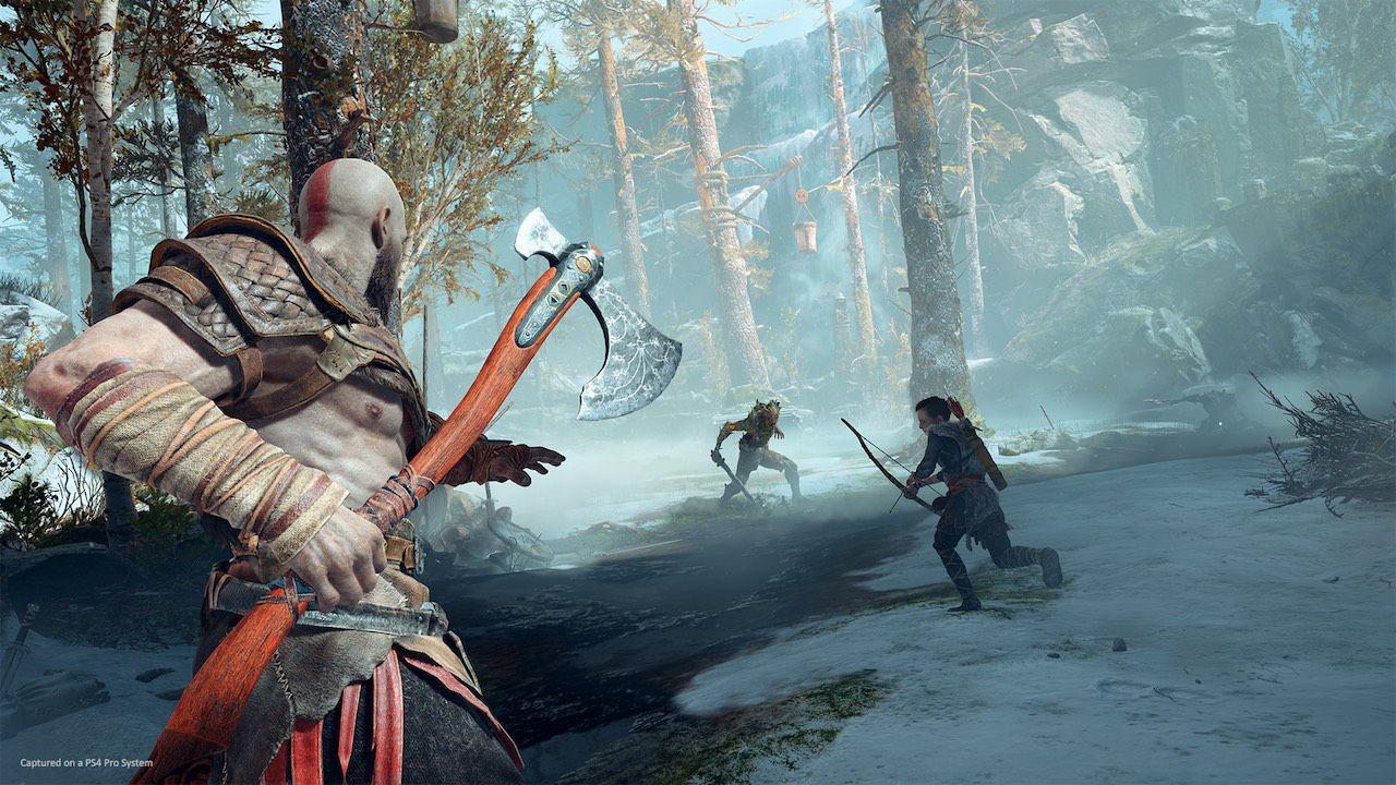 God of War su PS5: è disponibile l'upgrade gratis per giocare a 4K e 60fps