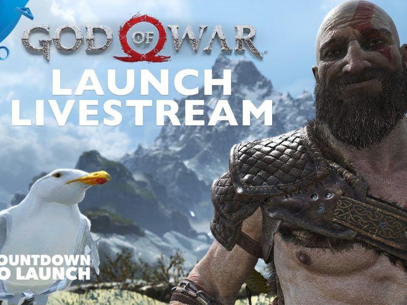God of War: la replica del livestream ufficiale che ha anticipato il lancio del gioco