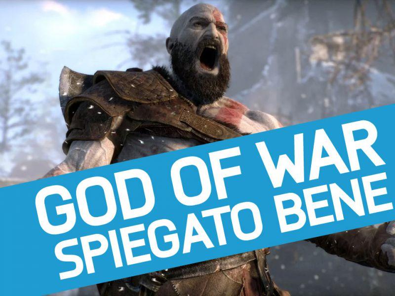 God of War: tutto quello che c''è da sapere sul nuovo gioco di Kratos in un video