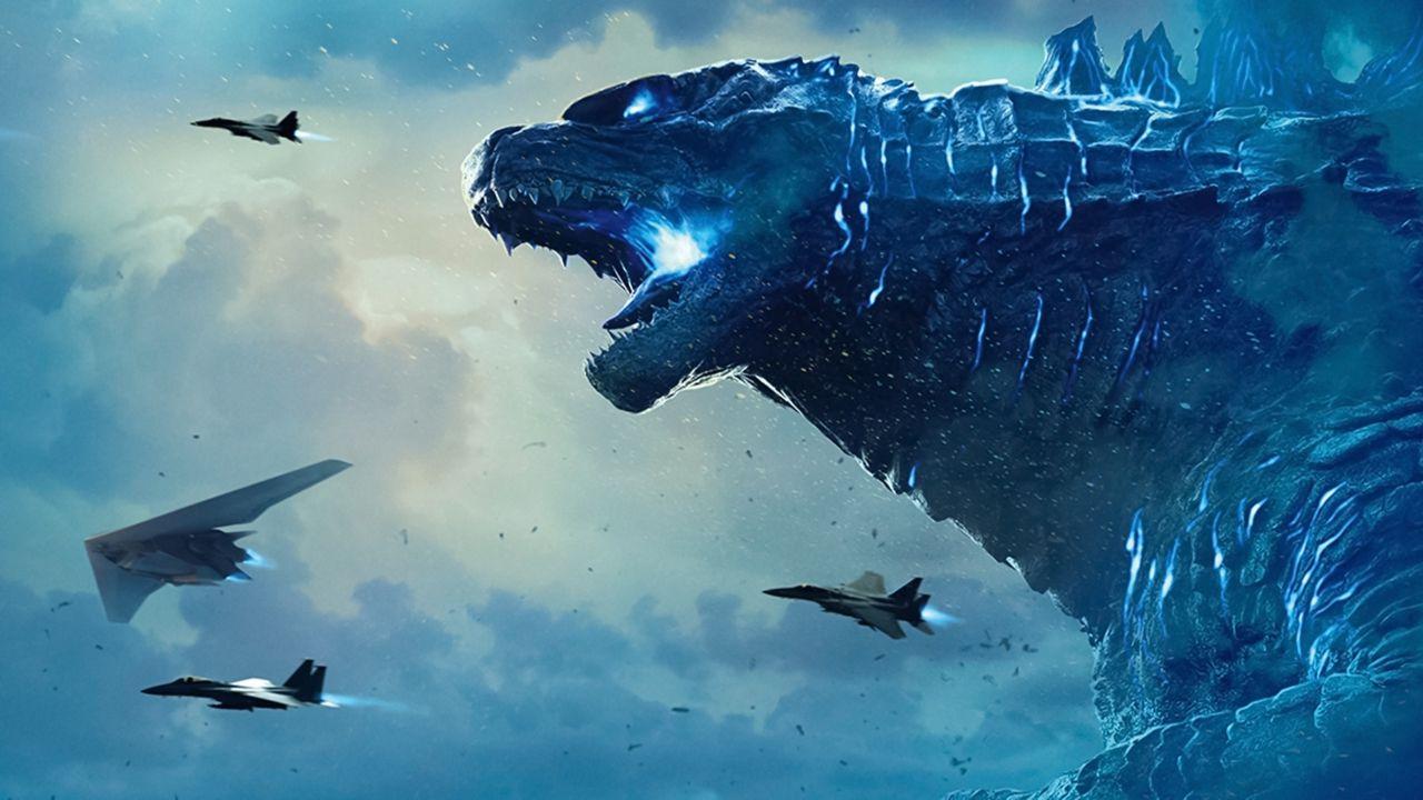 Godzilla, l'incredibile crossover con Alien prende vita in una fan-art