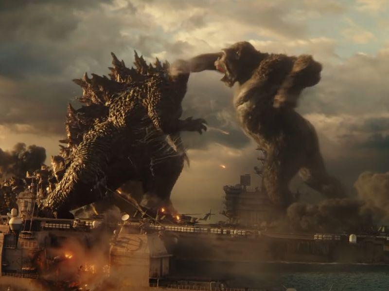Godzilla v Kong esagerato: ci sarà una battaglia lunga 18 minuti!
