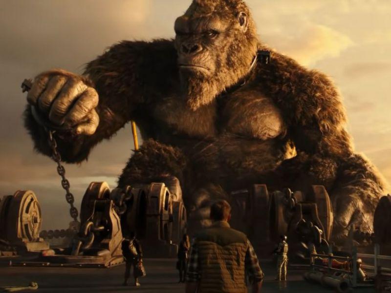 Godzilla vs Kong, l'esilarante trailer con un gatto al posto del re delle scimmie