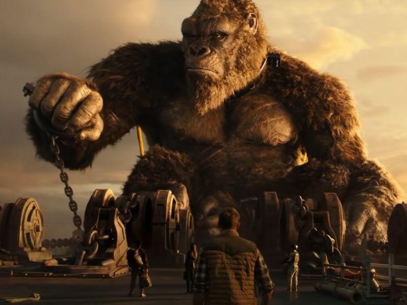 Godzilla vs Kong, il re delle scimmie viene catturato nel nuovo filmato promozionale!