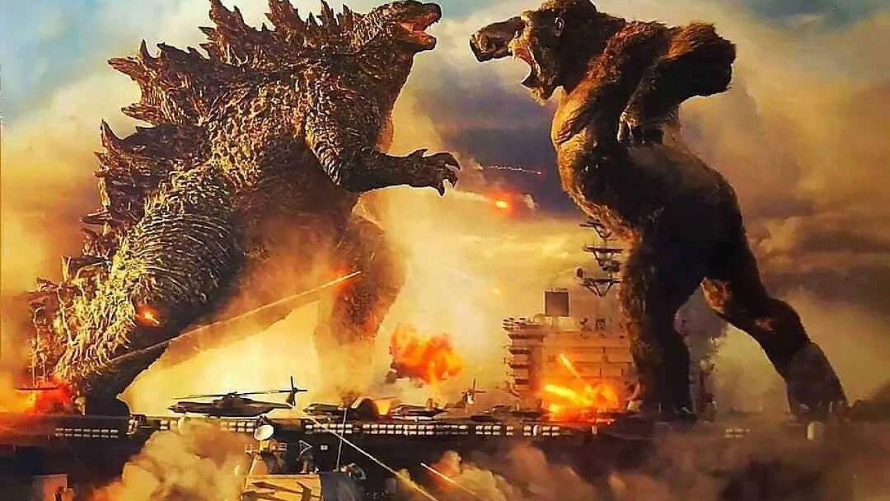 Godzilla vs Kong, Warner Bros. svela il nuovo logo ufficiale del crossover