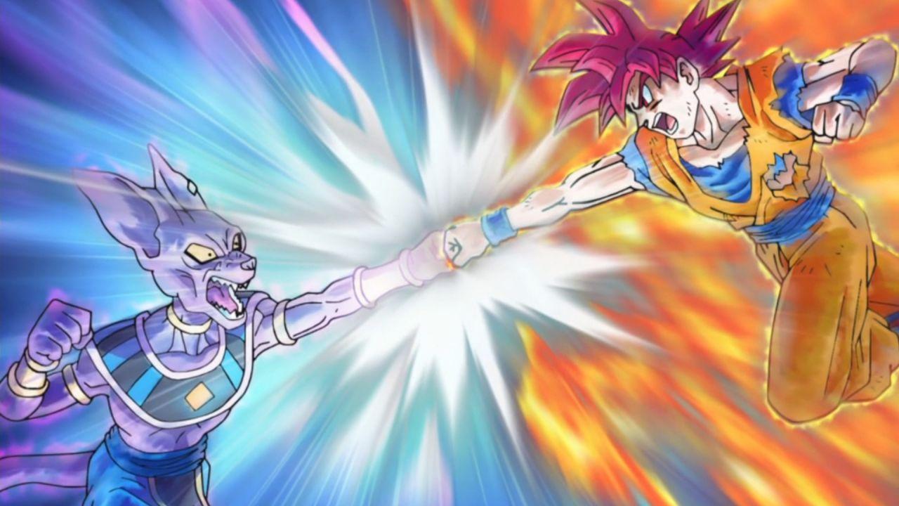 Goku può battere Beerus? La risposta in Super Dragon Ball Heroes: Big Bang Mission