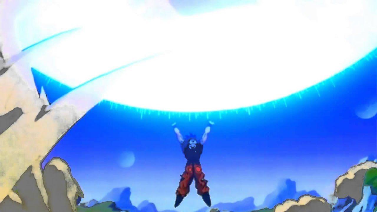 Goku verso il colpo finale. Un artista ci delizia con un'illustrazione di Dragon Ball Z