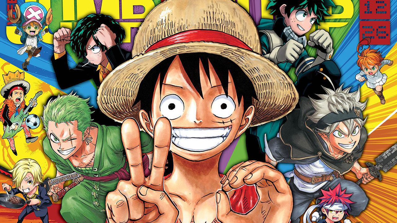 Goku, Luffy e altri eroi di Shonen Jump si rilassano in questa bellissima fan art