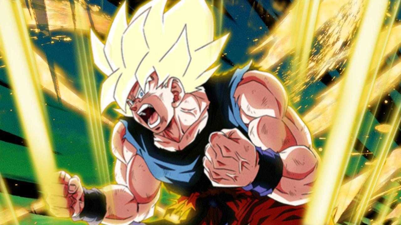 Goku Super Sayan e la sua 'rabbia calma' sono i protagonisti di uno splendido disegno