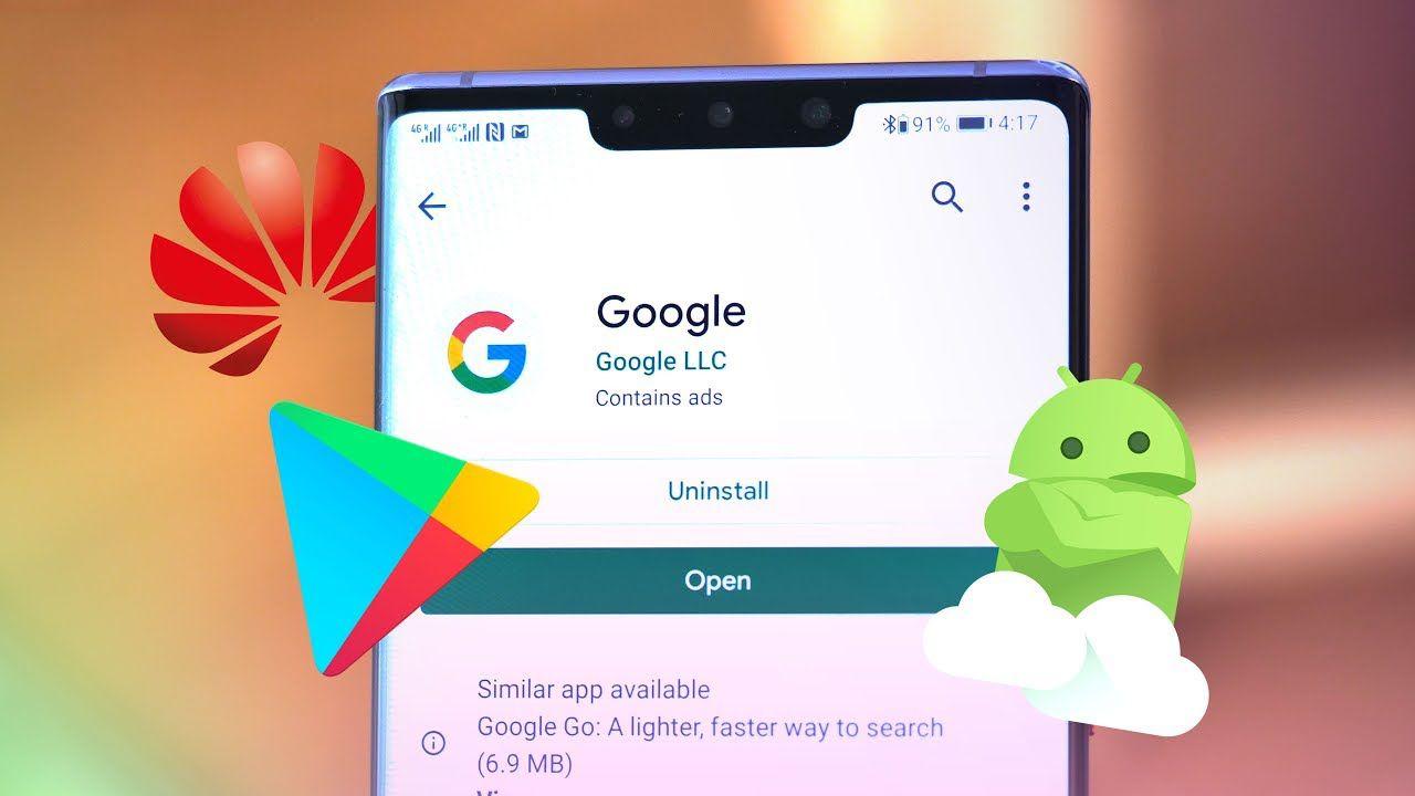 Google impedisce l'installazione delle sue app nei telefoni Huawei con chip Kirin