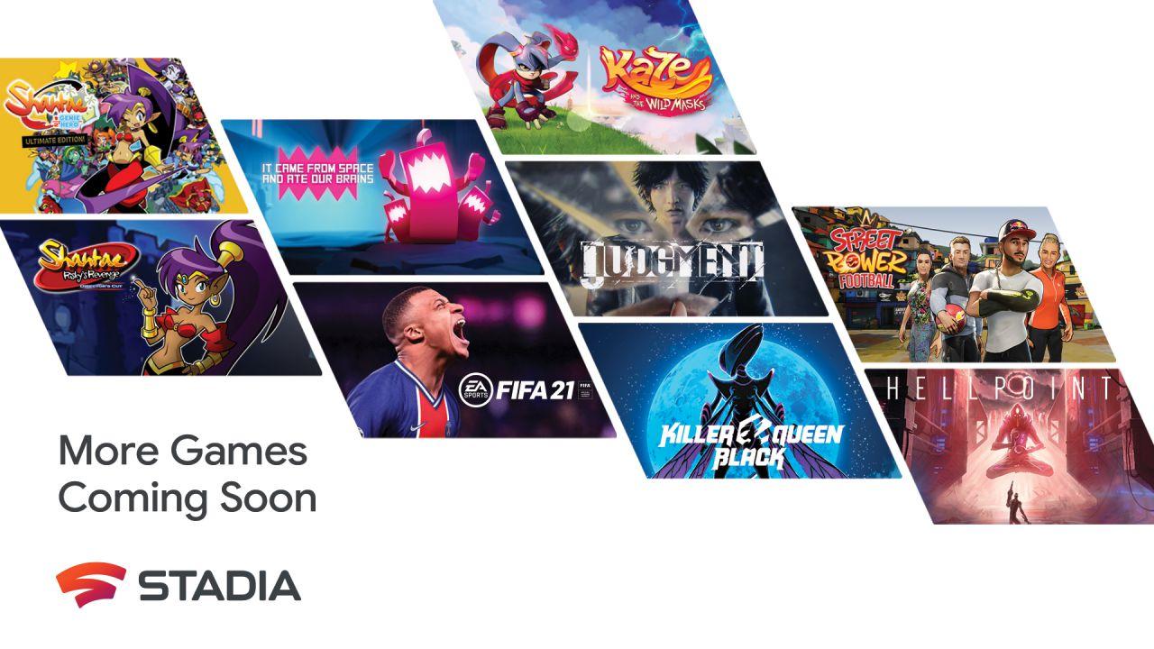 Google Stadia, oltre 100 giochi in uscita nel 2021: il calendario delle prossime settimane