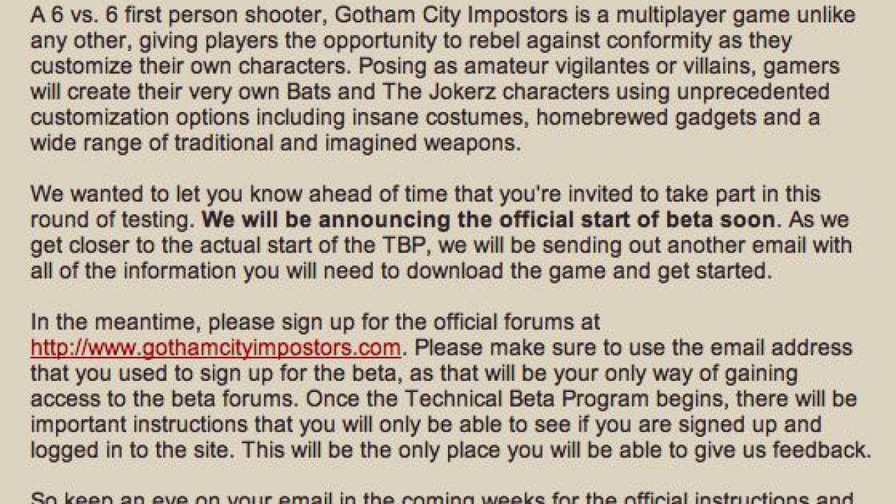 Gotham City Impostors: problemi con il download della versione PS3. Warner indaga