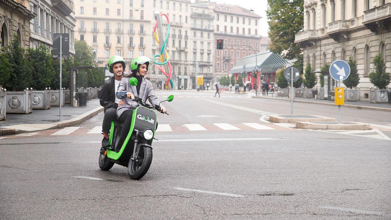 GoVolt: a Milano lo scooter sharing 100% elettrico senza pensieri