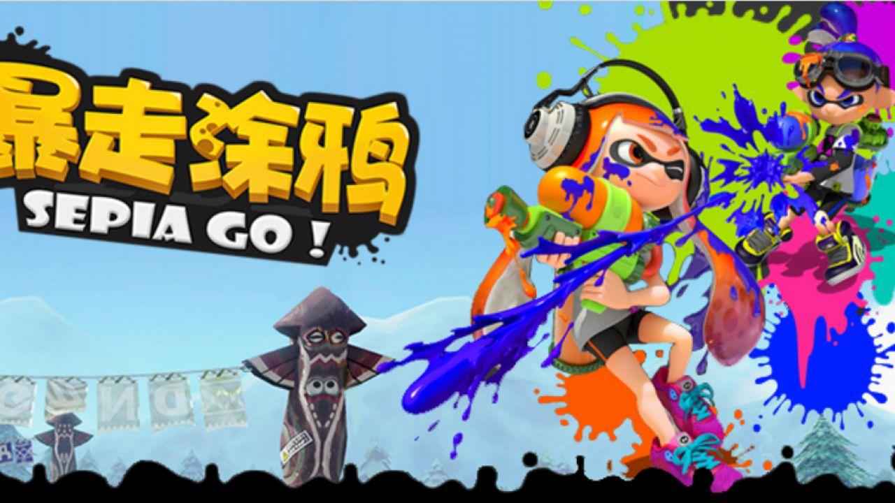 Graffiti Run Sepia Go è il clone cinese di Splatoon