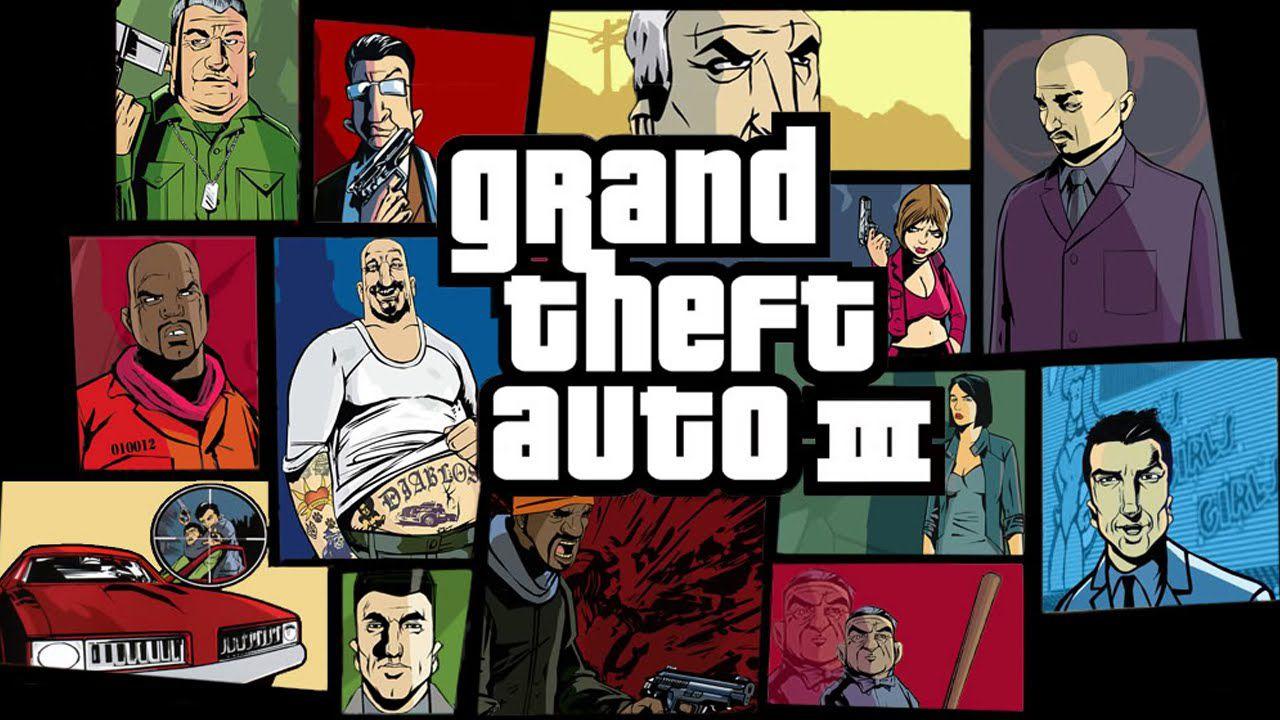 Grand Theft Auto 3 e Vice City si aggiornano su PlayStation 4