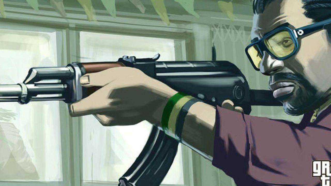 Grand Theft Auto 4  diventa un FPS