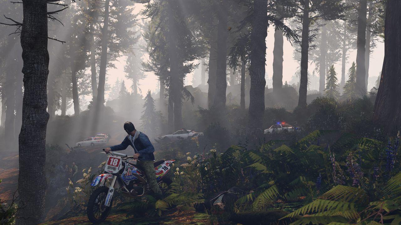 Grand Theft Auto 5: come volare usando la bicicletta