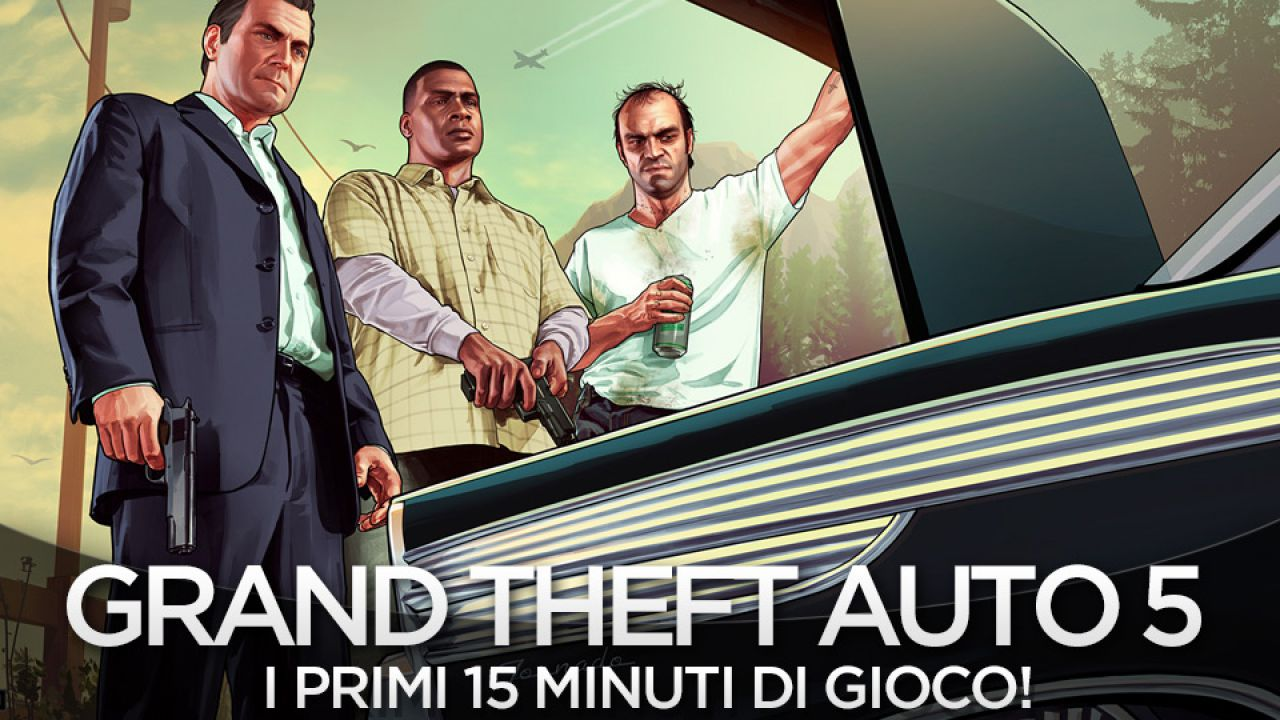 Grand Theft Auto 5 è il Game of The Year ai VGX