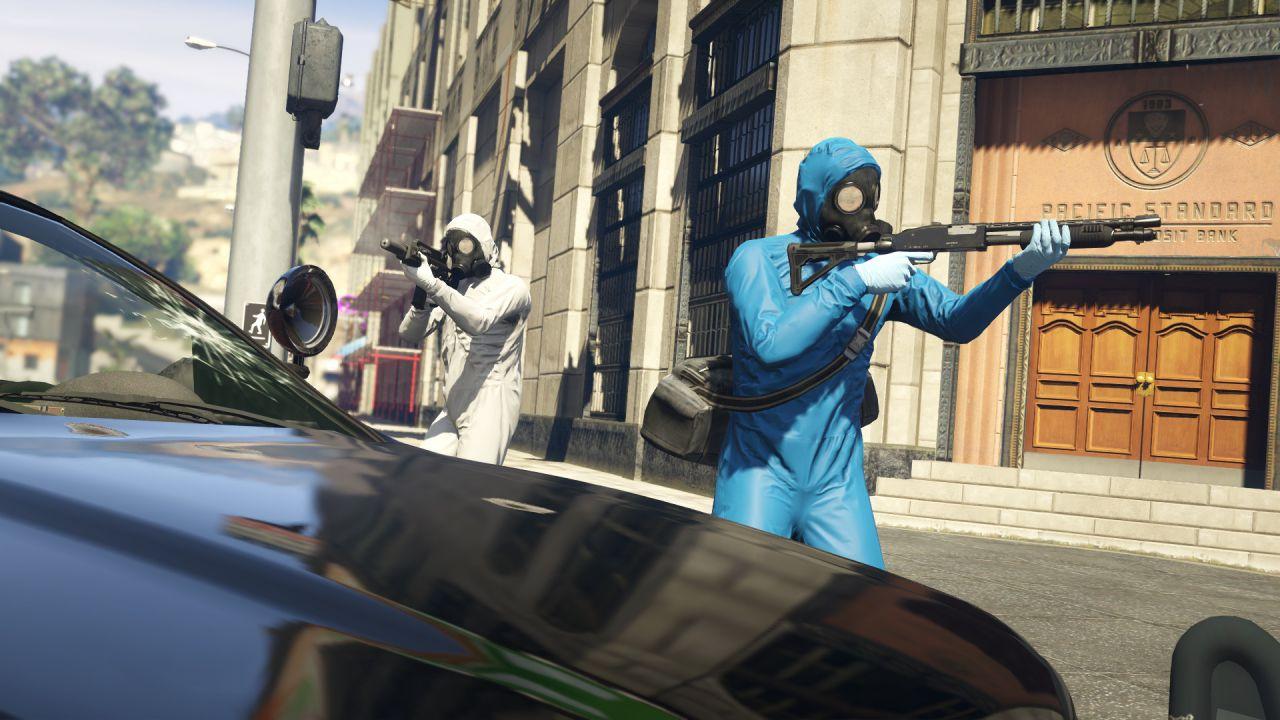 Grand Theft Auto 5: l'aggiornamento Colpi è disponibile per il download