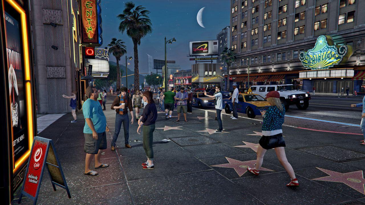 Grand Theft Auto 5 Online - Game Night con Francesco, Sergio e Andrea - Replica 26/11/2014