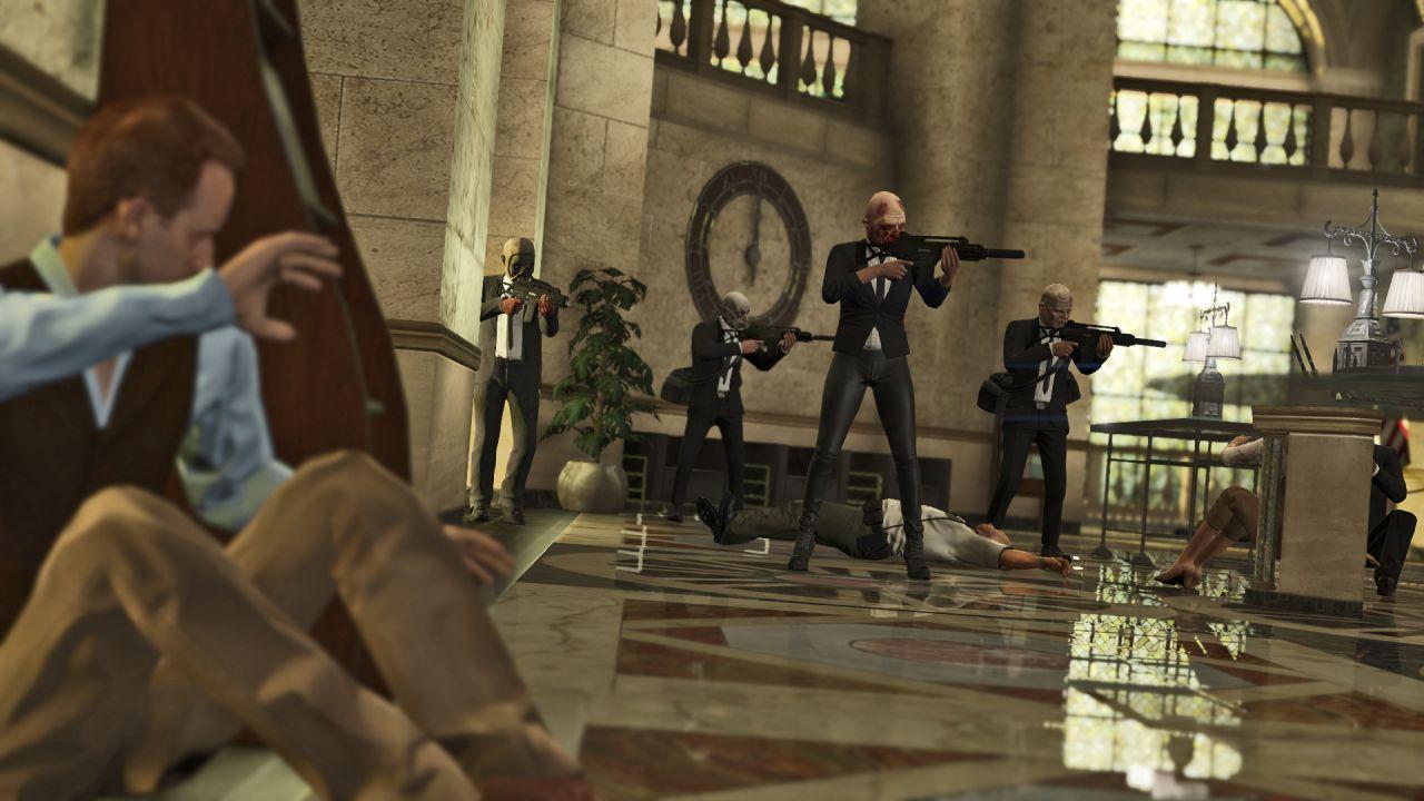 Grand Theft Auto 5 Online: L'aggiornamento Rapine è già disponibile per alcuni utenti