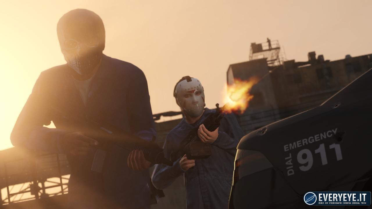 Grand Theft Auto 5: Pubblicate alcune GIF comparative