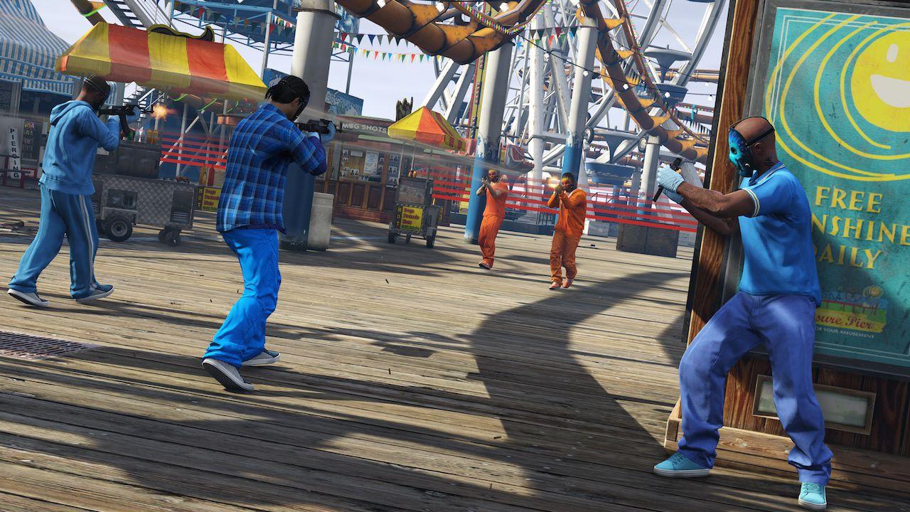 Grand Theft Auto Online: disponibile l'update 'Festive Surprise'