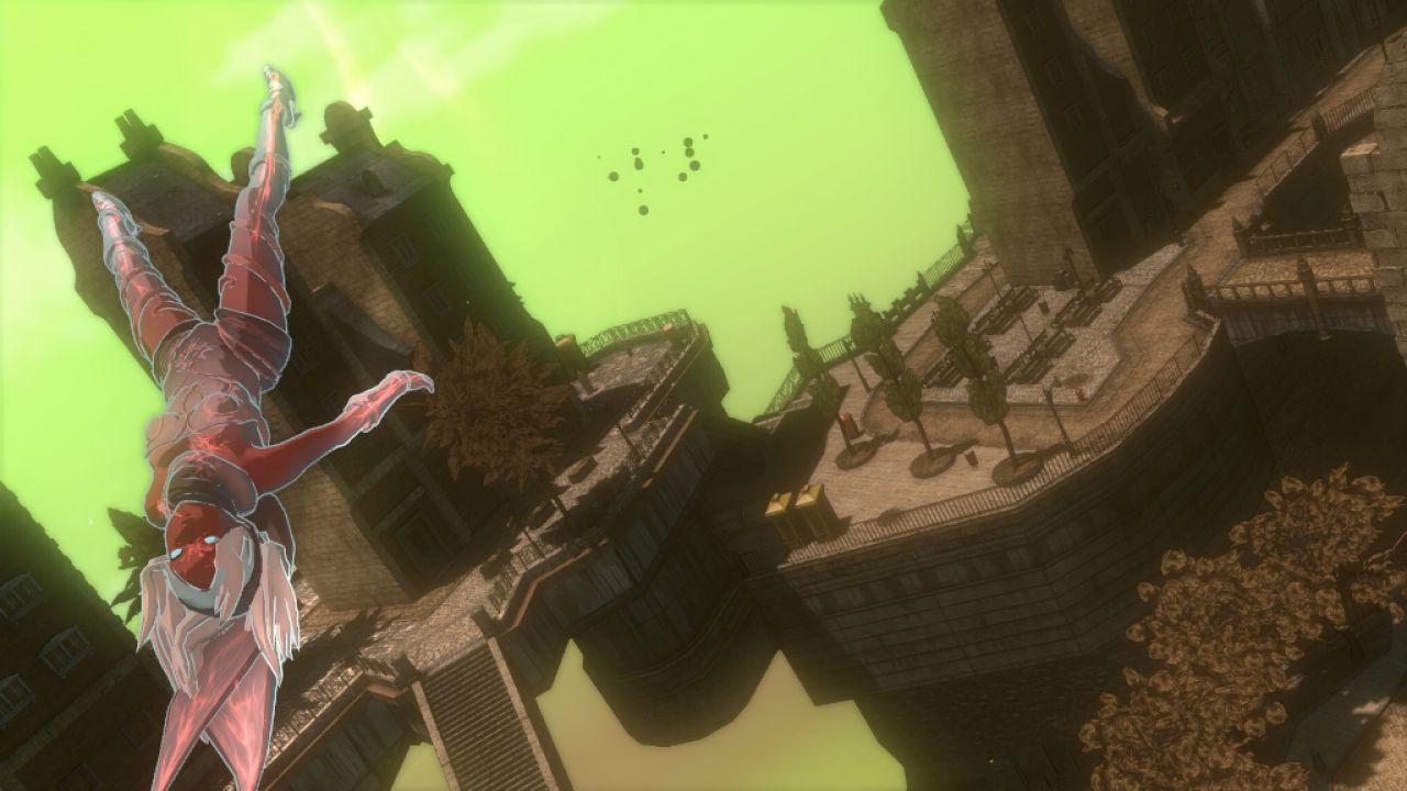 Gravity Rush Remastered: video gameplay e nuove immagini