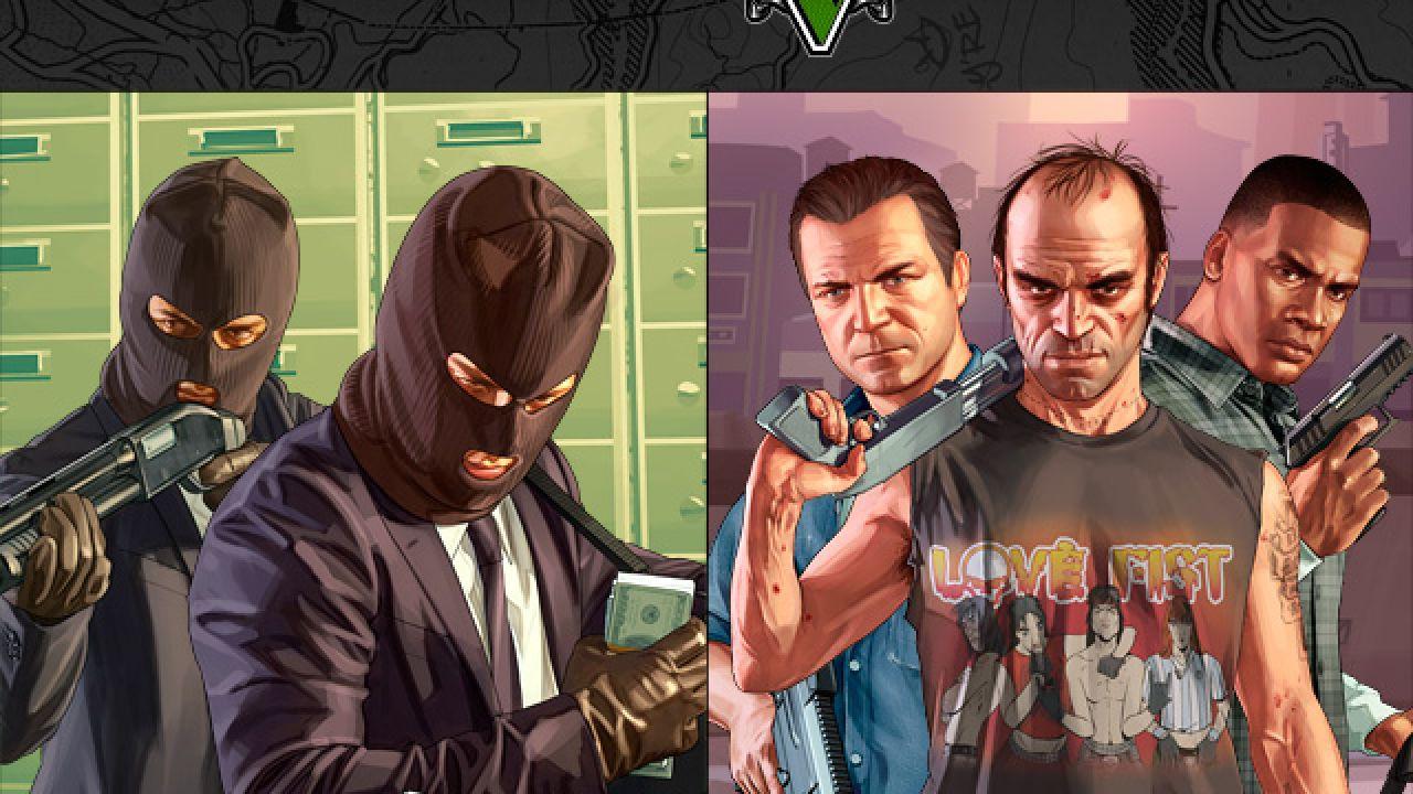 GTA 5: manuale e mappa per iPhone e iPad