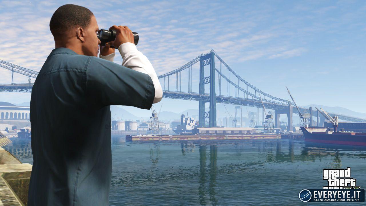 GTA 5: risoluzione a 1080p per la versione PlayStation 4