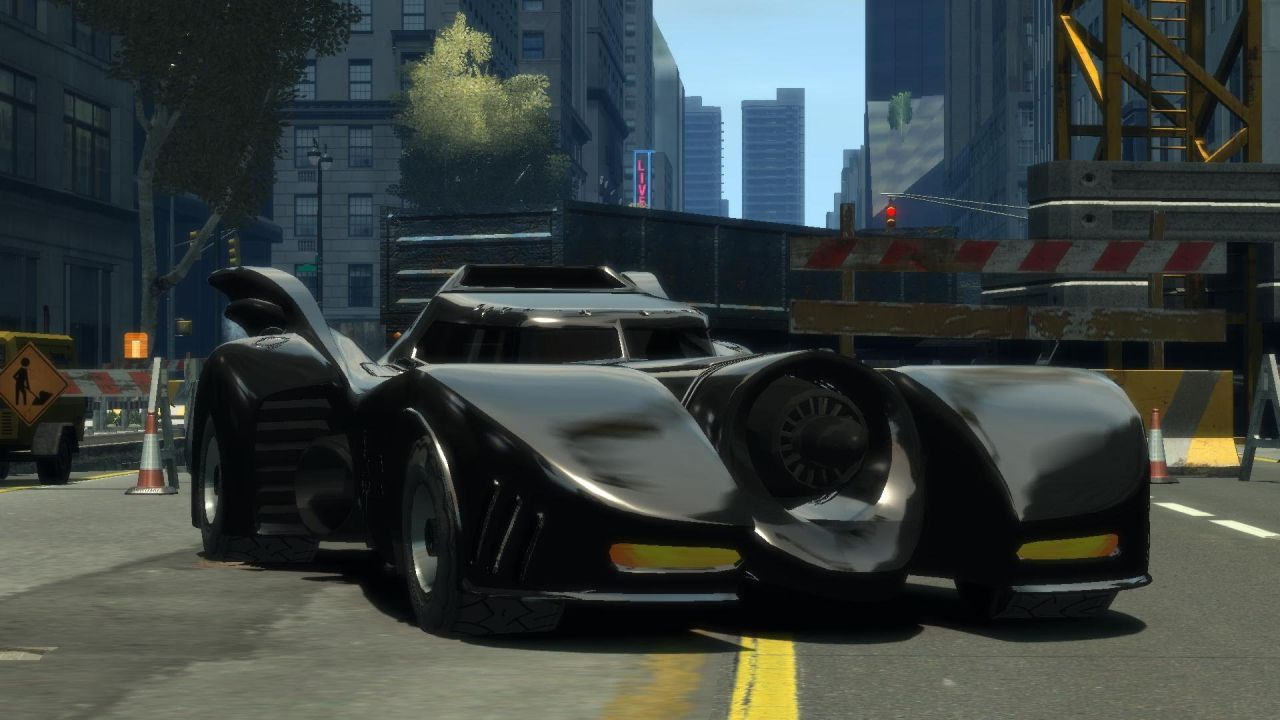GTA 5: una mod permette di sfrecciare per Los Santos a bordo della Batmobile