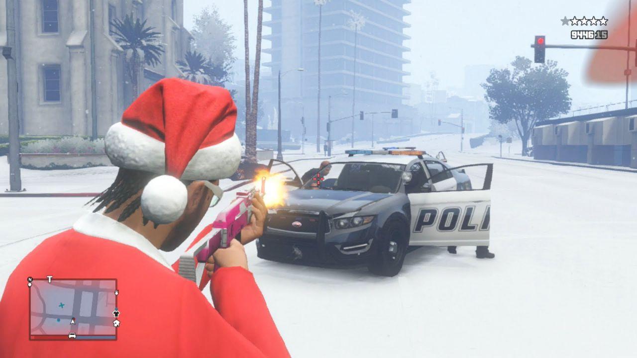 GTA Online: arriva l'aggiornamento di Natale