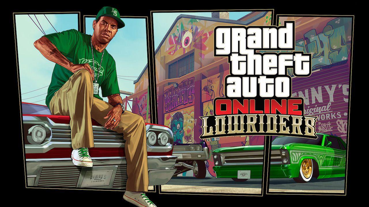 GTA Online: disponibile ora l'aggiornamento Lowriders