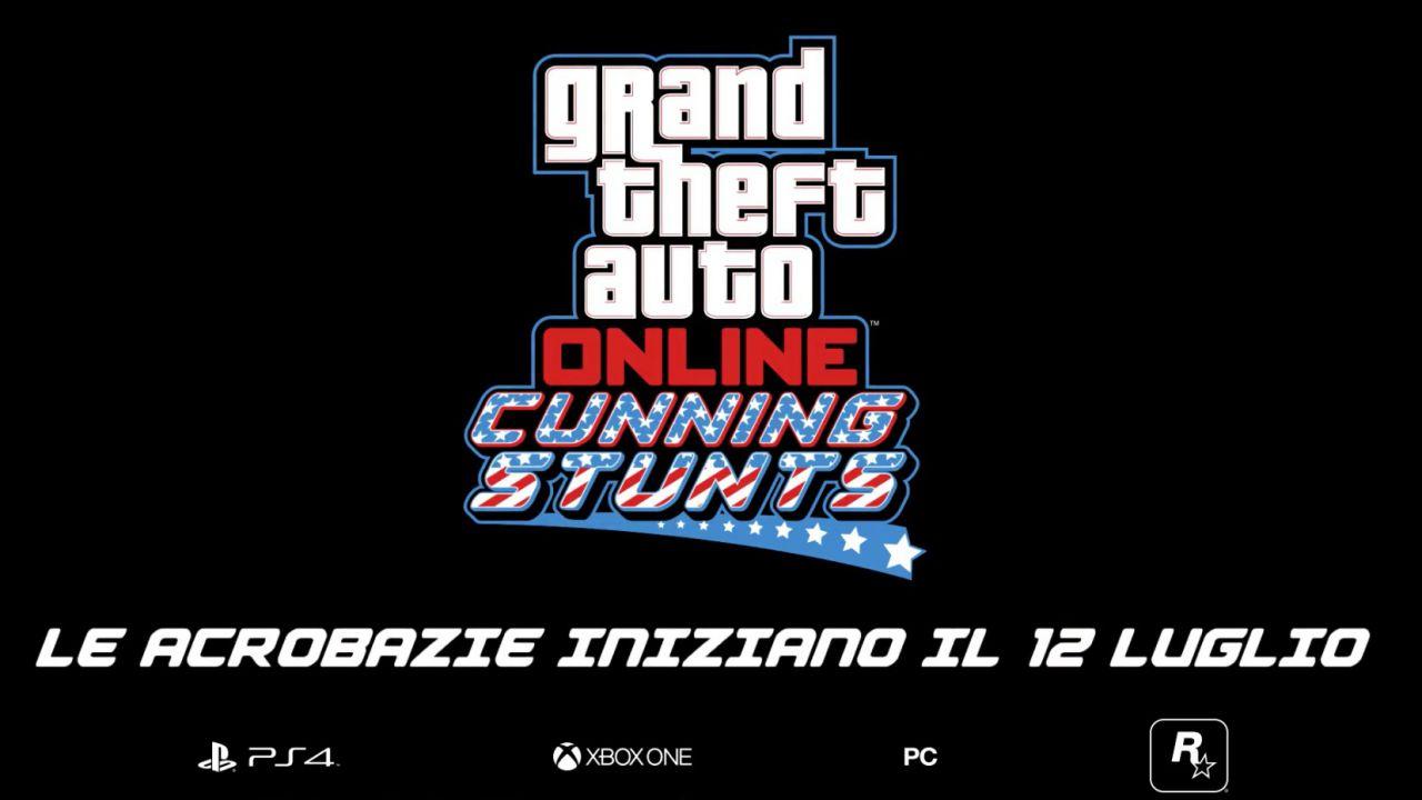 GTA Online: l'aggiornamento Stunt da Capogiro è ora disponibile